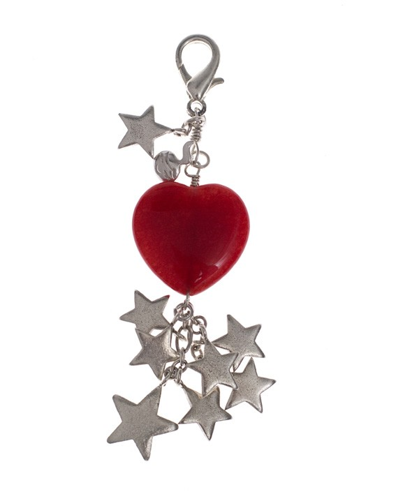 A mighty Heart Charm