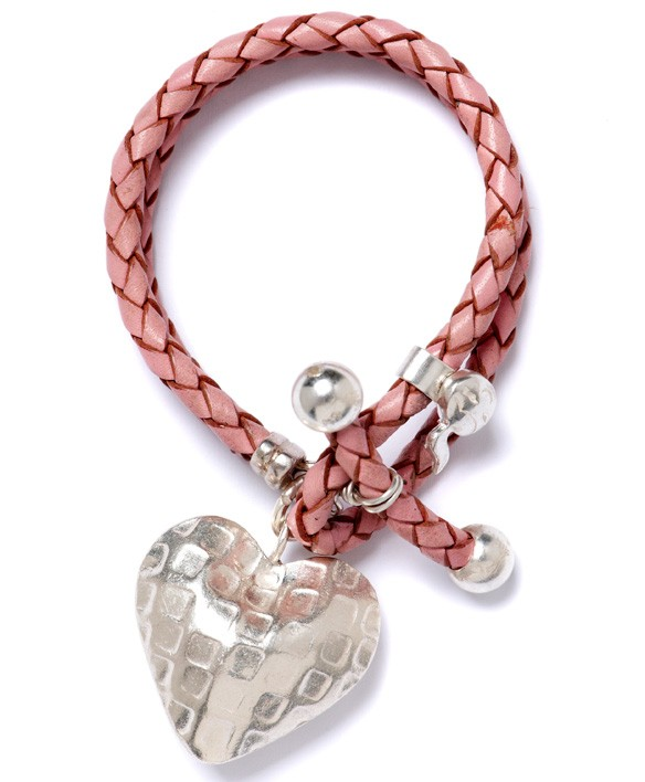 Toggle Big Silver Heart