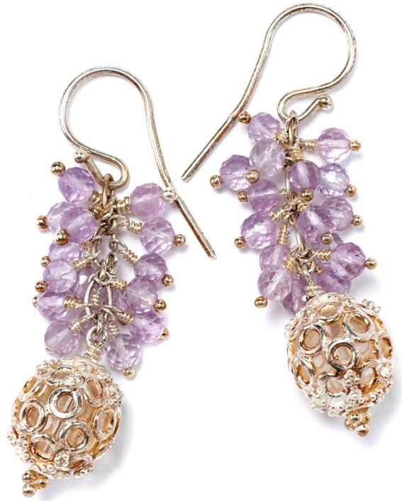 Oriental Whisper silver/purple
