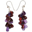 Lilac & Red Drops