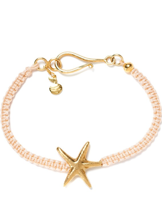 So Knot champagne golden starfish