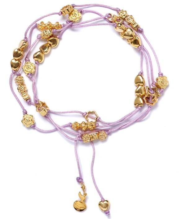 Wrap It lilac Gold