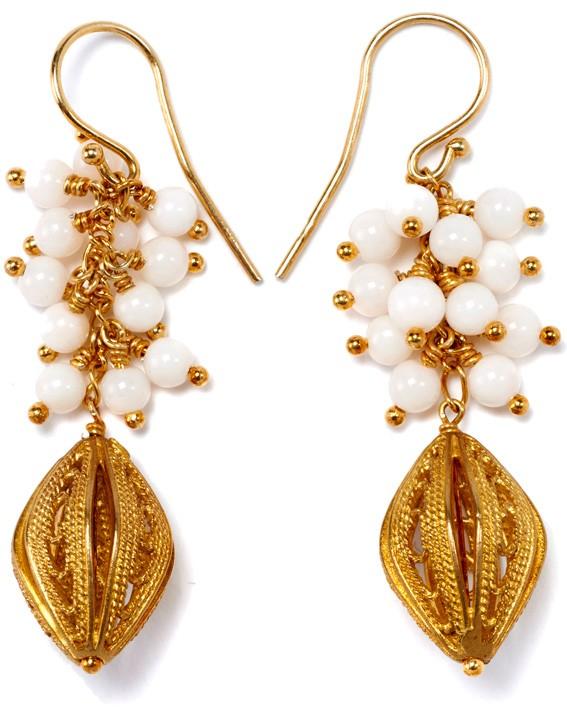 Oriental Whisper white/gold