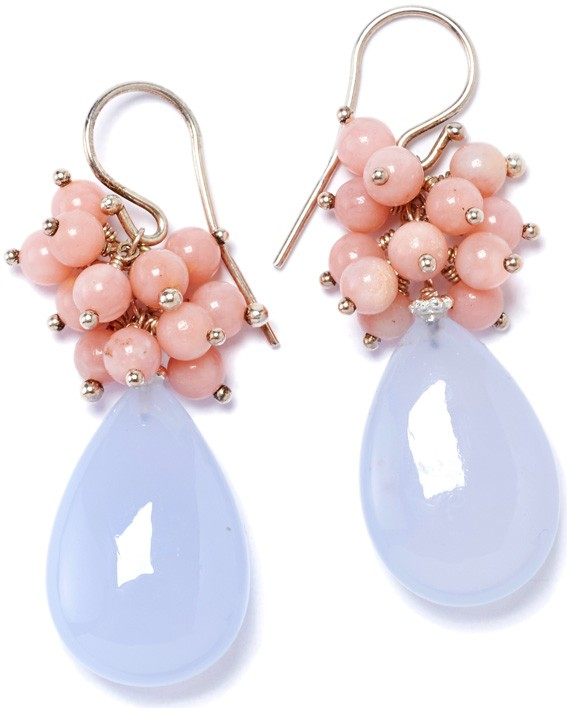 Dropped Color iceblue light pink