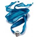Silk Ribbon Skull